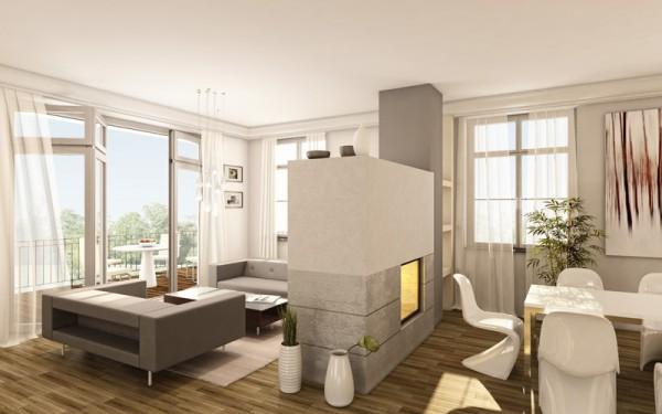 Jugendstil wohnung einrichten for Wohnung modern einrichten