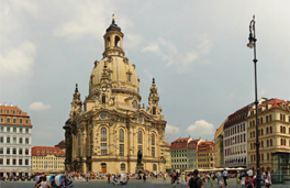 Lage in Dresden